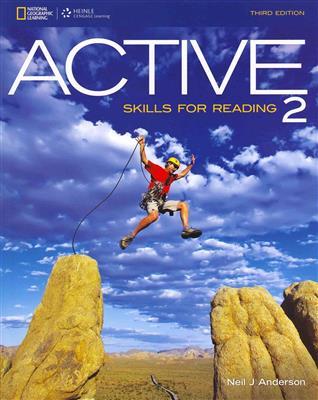 خرید کتاب انگليسی ACTIVE Skills for Reading 2 (3rd)+CD