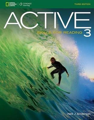 خرید کتاب انگليسی ACTIVE Skills for Reading 3 (3rd)+CD