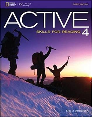 خرید کتاب انگليسی ACTIVE Skills for Reading 4 (3rd)+CD