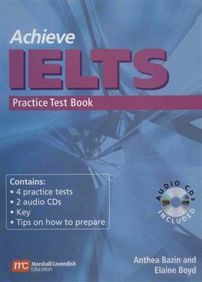 خرید کتاب انگليسی Achieve IELTS Practice Test Book
