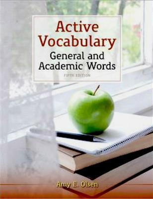 خرید کتاب انگليسی Active Vocabulary General and Academic Words 5th