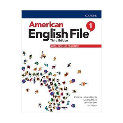خرید کتاب انگليسی American English File 1 (3rd) SB + WB + CD