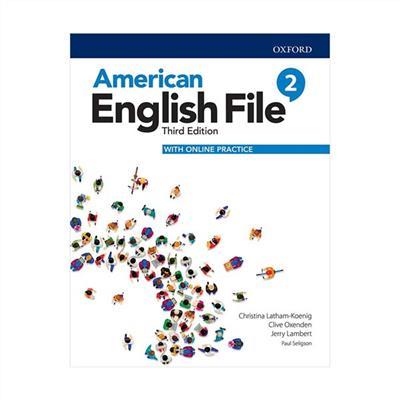 خرید کتاب انگليسی American English File 2 (3rd) SB + WB + CD