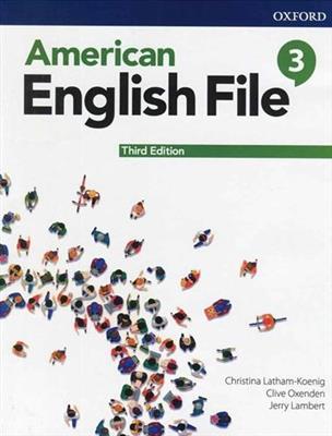 خرید کتاب انگليسی American English File 3 (3rd) SB + WB + CD