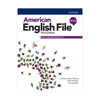 خرید کتاب انگليسی American English File Starter (3rd) SB + WB + CD