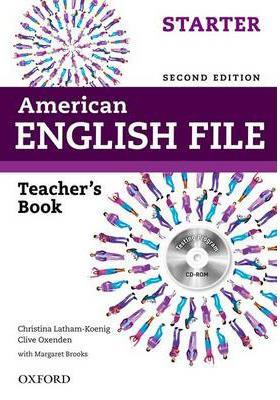 خرید کتاب انگليسی American English File starter Teachers Book 2nd+CD