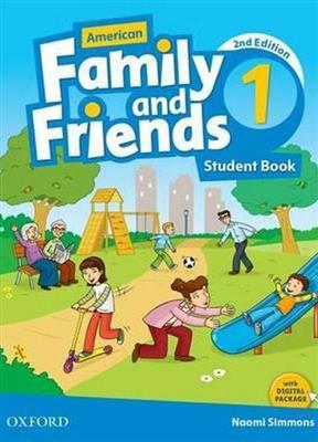 خرید کتاب انگليسی American Family and Friends 1 (2nd) SB+WB+DVD