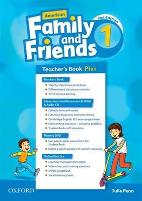 خرید کتاب انگليسی American Family and Friends 1 (2nd) Teachers book+CD+CD-ROM