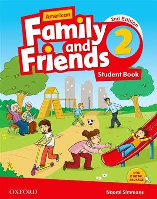 خرید کتاب انگليسی American Family and Friends 2 (2nd) SB+WB+DVD
