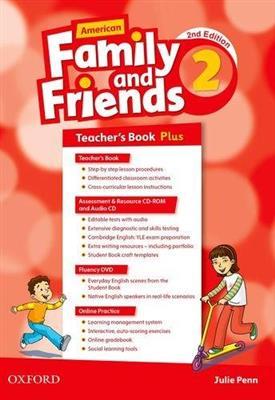 خرید کتاب انگليسی American Family and Friends 2 (2nd) Teachers book+CD+CD-ROM
