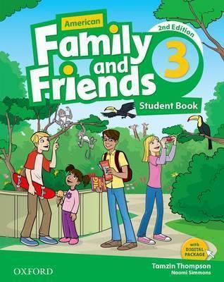 خرید کتاب انگليسی American Family and Friends 3 (2nd) SB+WB+DVD