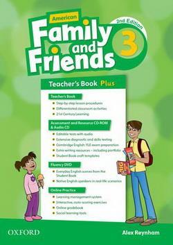 خرید کتاب انگليسی American Family and Friends 3 (2nd) Teachers book+CD+CD-ROM