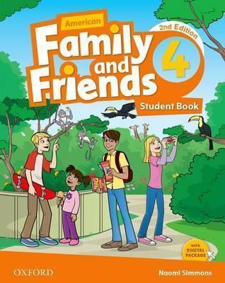 خرید کتاب انگليسی American Family and Friends 4 (2nd) SB+WB+DVD