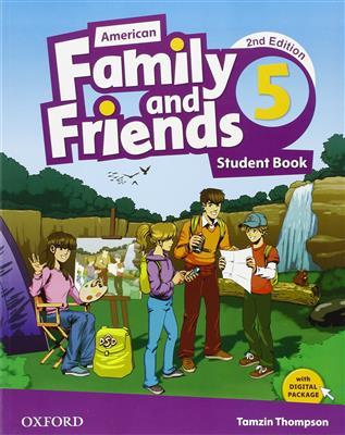 خرید کتاب انگليسی American Family and Friends 5 (2nd) SB+WB+DVD