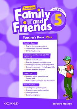 خرید کتاب انگليسی American Family and Friends 5 (2nd) Teachers book+CD+CD-ROM