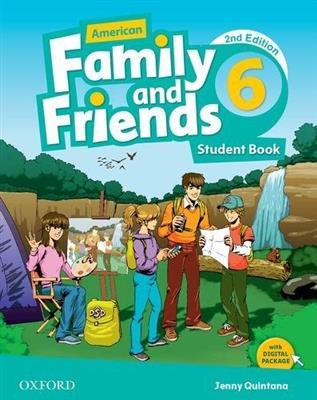 خرید کتاب انگليسی American Family and Friends 6 (2nd) SB+WB+DVD