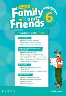 خرید کتاب انگليسی American Family and Friends 6 (2nd) Teachers book+CD+CD-ROM