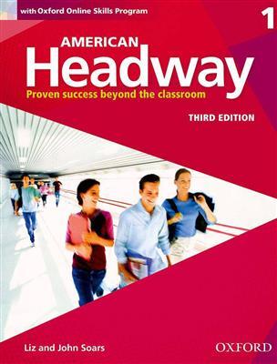 خرید کتاب انگليسی American Headway 1 (3rd) SB+WB+DVD