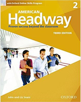 خرید کتاب انگليسی American Headway 2 (3rd) SB+WB+DVD