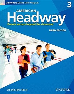 خرید کتاب انگليسی American Headway 3 (3rd) SB+WB+CD