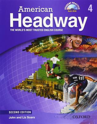 خرید کتاب انگليسی American Headway 4 (2nd) SB+WB+2CD