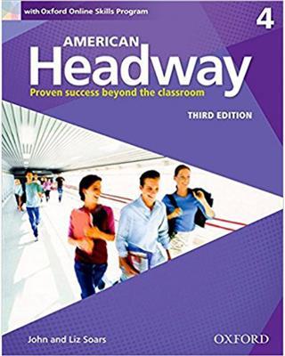 خرید کتاب انگليسی American Headway 4 (3rd) SB+WB+DVD