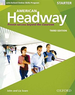 خرید کتاب انگليسی American Headway Starter (3rd) SB+WB+DVD
