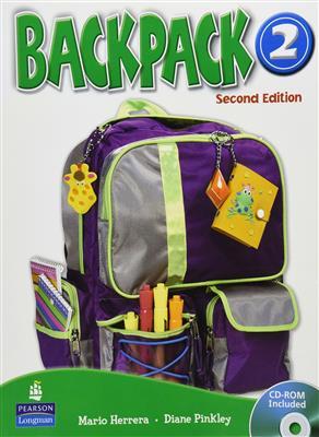 خرید کتاب انگليسی Backpack 2 (SB+WB+2CD+DVD)