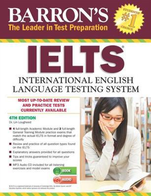 خرید کتاب انگليسی Barrons IELTS 4th+CD