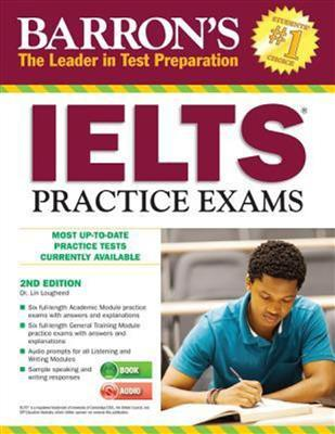 خرید کتاب انگليسی Barrons IELTS Practice Exams 2nd+CD
