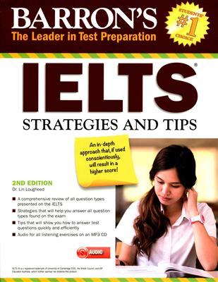 خرید کتاب انگليسی Barrons IELTS Strategies and Tips 2nd+CD