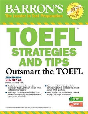 خرید کتاب انگليسی Barrons TOEFL Strategies and Tips 2nd+MP3 CD