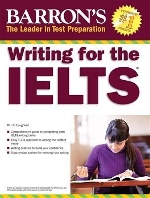 خرید کتاب انگليسی Barrons Writing for the IELTS - writing