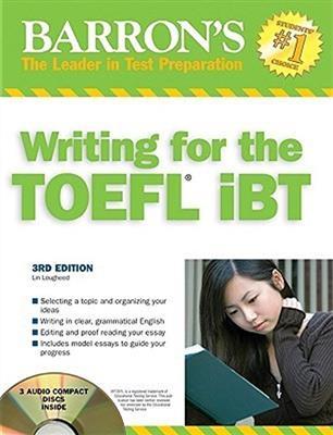 خرید کتاب انگليسی Barrons Writing for the TOEFL IBT 5th+CD