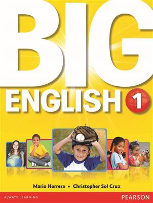 خرید کتاب انگليسی Big English 1 (SB+WB+CD+DVD)