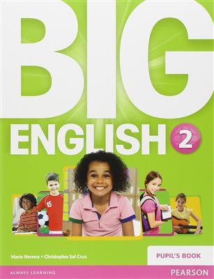 خرید کتاب انگليسی Big English 2 (SB+WB+CD+DVD)