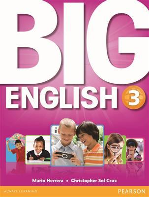 خرید کتاب انگليسی Big English 3 (SB+WB+CD+DVD)