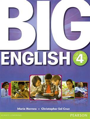 خرید کتاب انگليسی Big English 4 (S.B+W.B+CD+DVD)