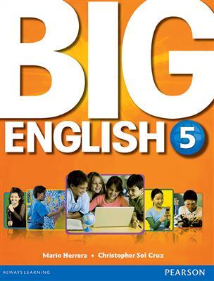 خرید کتاب انگليسی Big English 5 (S.B+W.B+CD+DVD)