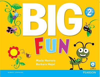 خرید کتاب انگليسی Big Fun 2 (SB+WB+CD+DVD)