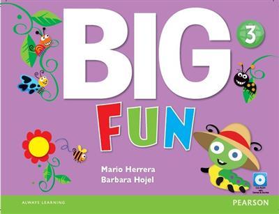 خرید کتاب انگليسی Big Fun 3 (SB+WB+CD+DVD)