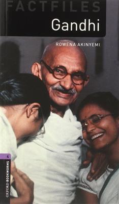 خرید کتاب انگليسی Bookworms 4:Gandhi+CD