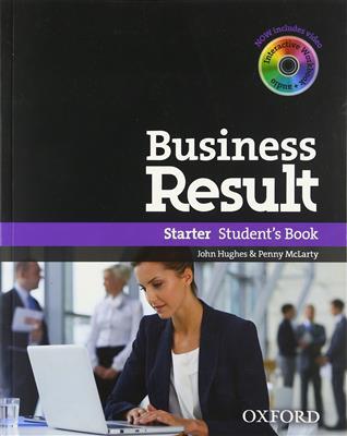 خرید کتاب انگليسی Business Result Starter + DVD