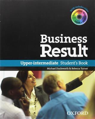 خرید کتاب انگليسی Business Result Upper-Intermediate + DVD