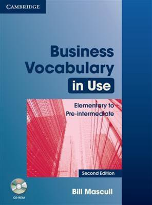 خرید کتاب انگليسی Business Vocabulary in Use Elementary to Pre-intermediate 2nd+CD