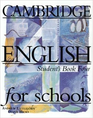 خرید کتاب انگليسی CAMBRIDGE ENGLISH for Schools 4 + WB