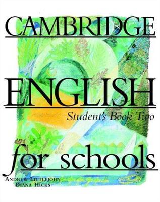 خرید کتاب انگليسی CAMBRIDGE ENGLISH for schools Student's 2 + WB