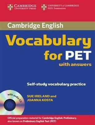 خرید کتاب انگليسی Cambridge Vocabulary for PET