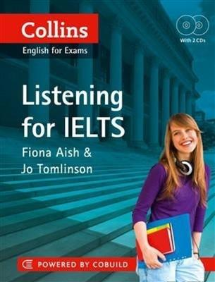 خرید کتاب انگليسی Collins English for Exams Listening for IELTS+CD