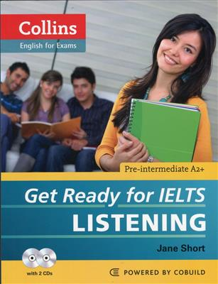 خرید کتاب انگليسی Collins Get Ready for IELTS Listening Pre-Intermediate+CD